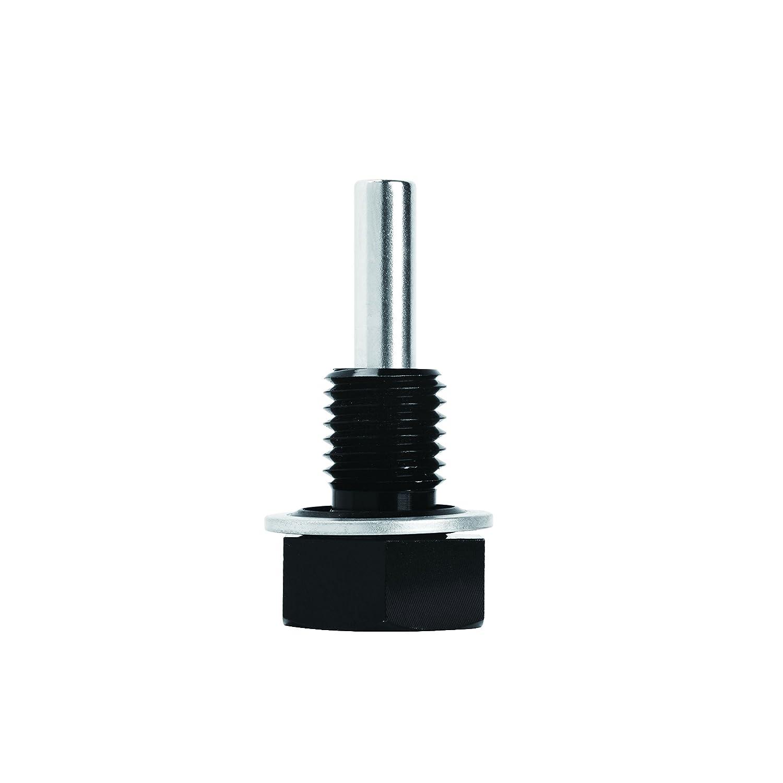Mishimoto MMODP-1215B Magnetic Oil Drain Plug M12 x 1.5, Black