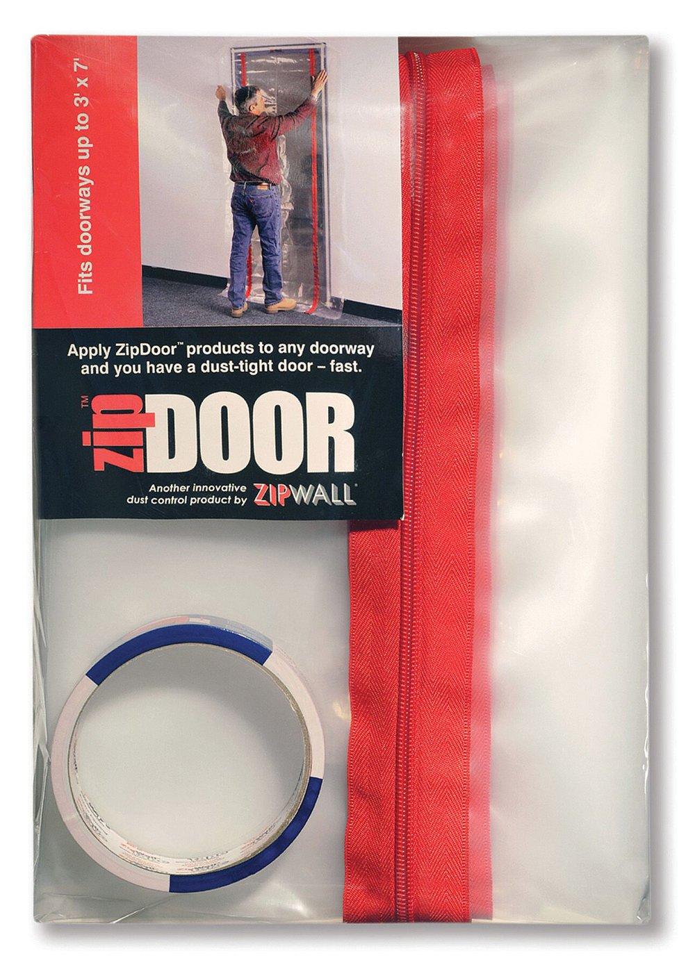 ZipWall ZipDoor 6-Pack Standard Door Kit for Dust Containment, ZDS-PK6