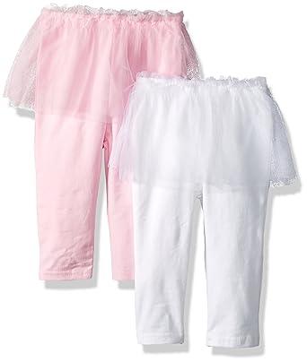 230d1718b Hudson Baby Girls' Tutu Leggings, 2 Pack,: Amazon.in: Clothing ...