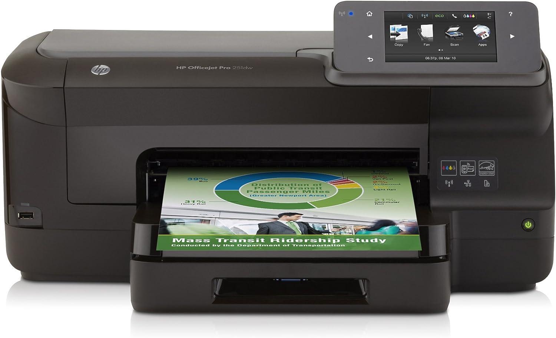 HP Officejet Pro 251dw - Impresora de tinta B/N 20 PPM, 15 PPM ...