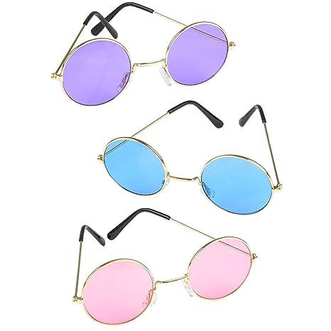 Amazon.com: Anteojos de sol coloridos de John Lennon ...
