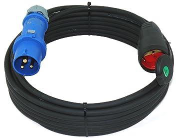 Geräte-Anschluss-Kabel mit Schuko-Winkel-Stecker,3-polig Leitung 230V