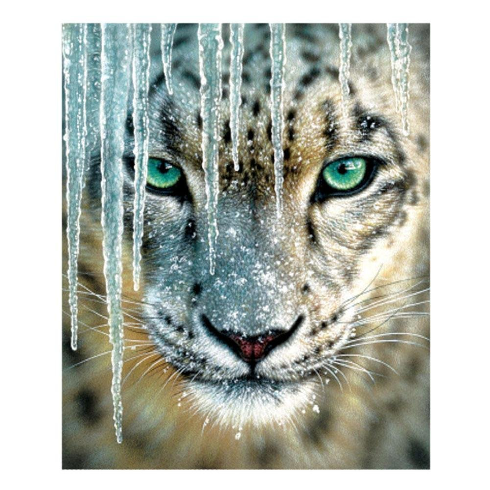 Diamond Painting, DiamondoDIY 5D Animal Full Square Rhinestones Diamond Painting Embroid Cross Stitch