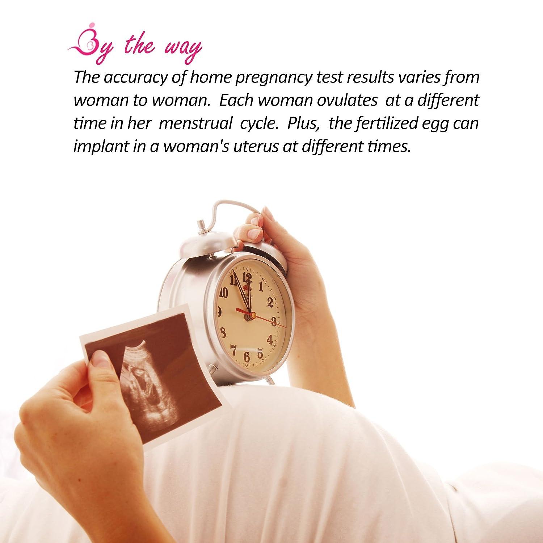 Amazon PREGMATE 8 Pregnancy HCG Midstream Tests Sticks e