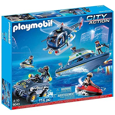 Playmobil City Action Police 5 Vehicle Playset 9043: Toys & Games