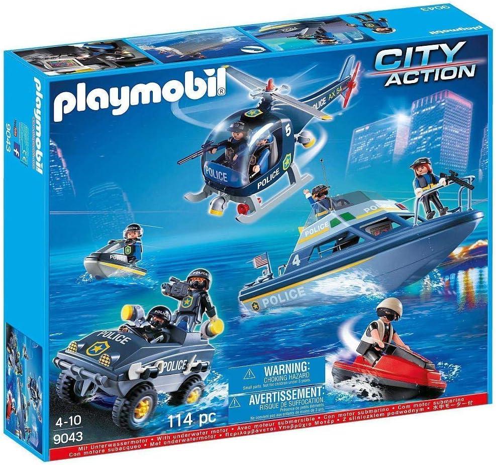 Playmobil - Set de policía - 9043