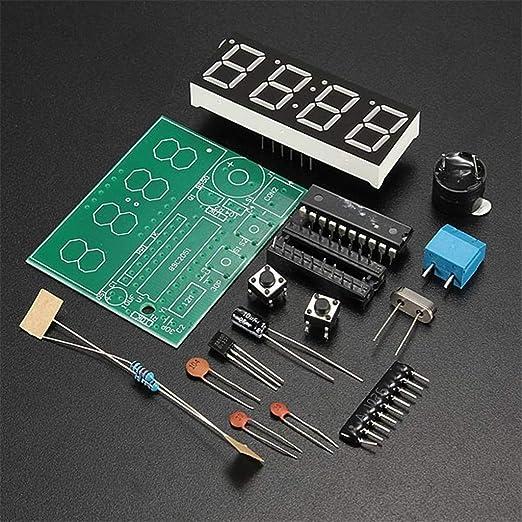 Gaoxing Tech C51 4 Bits Digital Led Elektronische Uhr Elektronik