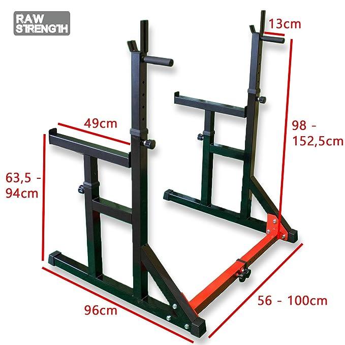 Raw Strength RS-3 - Soporte para sentadillas Multi Sqaut Rack ...
