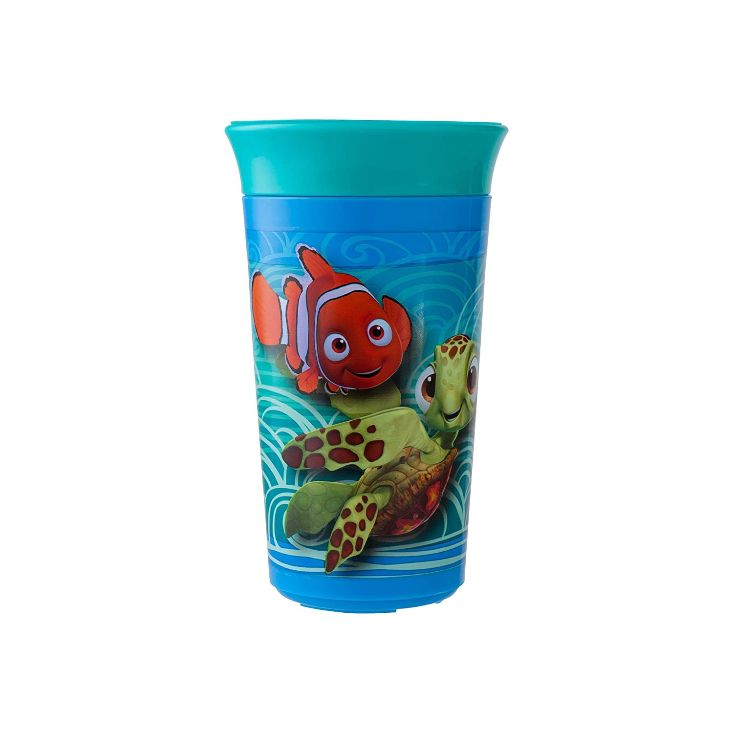 The First Years Disney/Pixar Simply Spoutless Cup, Finding Nemo, 9 Ounce by The First Years   B019JZOKIE