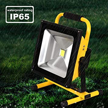 Amazon.co.jp: 1pcs 10w led フラッド照明充電式 led 緊急