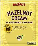 ブルックス ヘーゼルナッツクリーム 10g×20袋 ドリップバッグコーヒー フレーバーコーヒー 珈琲 BROOK'S BROOKS