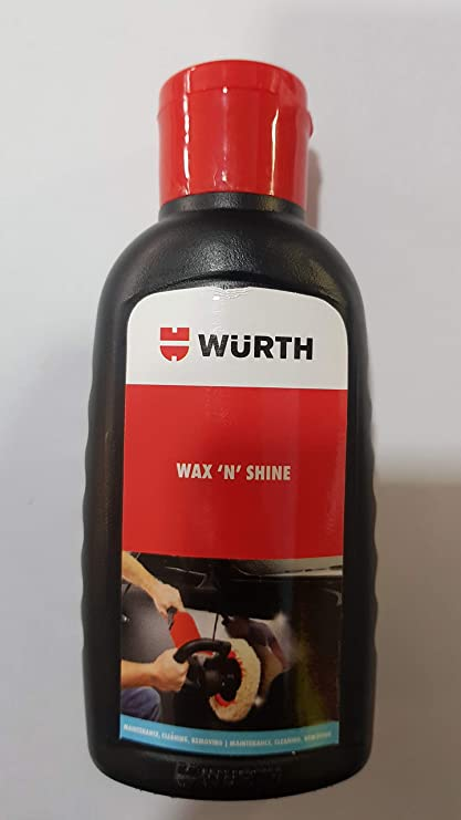 WUERTH INDIA PVT LTD WAX 'N' SHINE: Amazon in: Car & Motorbike