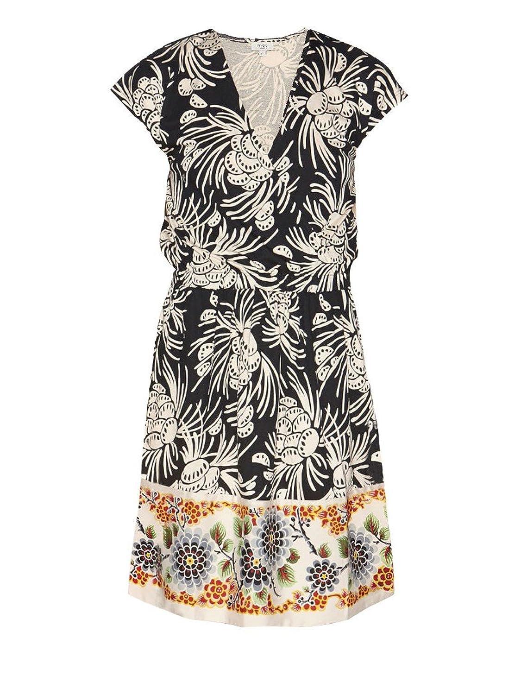 Hoss Intropia Women's Wrap Floral Dress