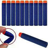 HeroNeo® 100Pcs Toy Gun Refill Foam Soft Darts Bullet For Nerf N-strike Series Blasters 7.2x1.2cm