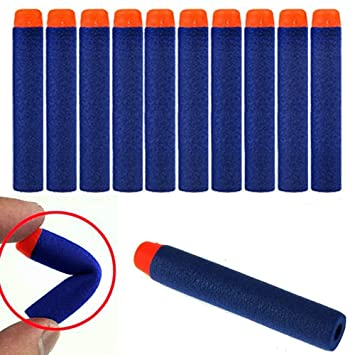 Surwish Soft Bullet Clips For Nerf Toy Gun 12 Bullets Ammo Cartridge Dart  For Nerf Gun