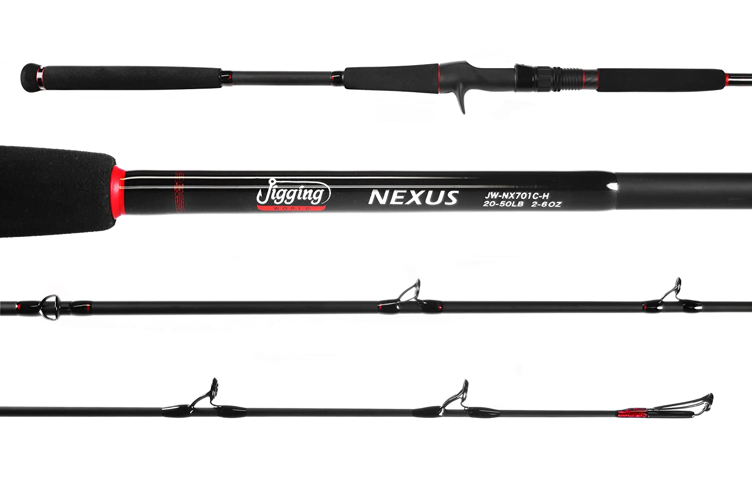 Jigging world Nexus Rods (JW-NX701C-H)
