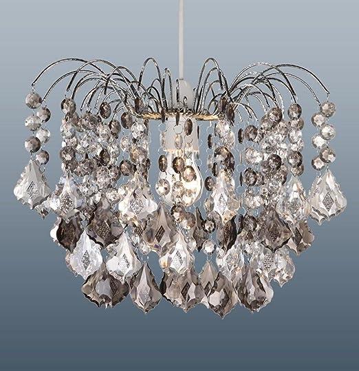 Adorno para lámparas, de 48 piezas de cristal, aspecto de ...