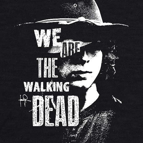 6034b02aa Amazon.com: Carl Grimes We Are The Walking Dead Women Graphic Tee T-shirt  Shirt: Handmade