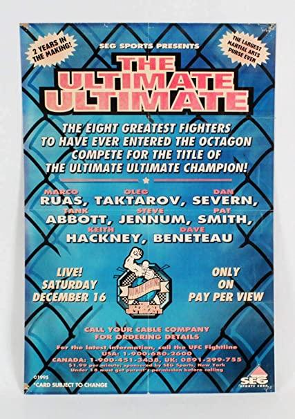 UFC: The Ultimate Ultimate 199...