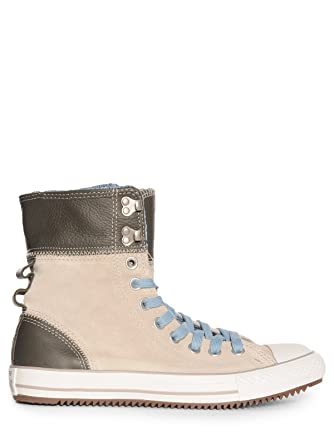 ce8a433125c9 Converse All Star Elsie Roldown Leather Sneaker Wms  Amazon.co.uk  Shoes    Bags