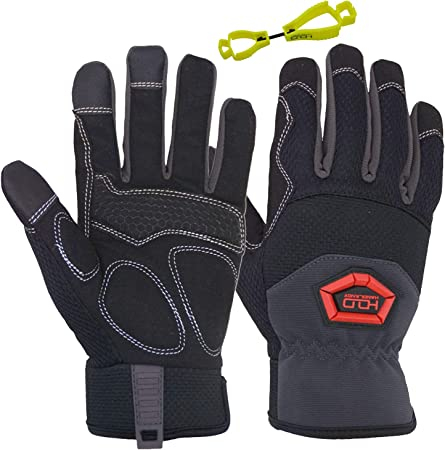 EN3882112 Mechanical Good for Drilling Equipment Operation Construction and Farming Tool Handling Intra-FIT Professional Anti-Vibration Glove EN ISO 10819:2013 Certified Grip Long Lasting