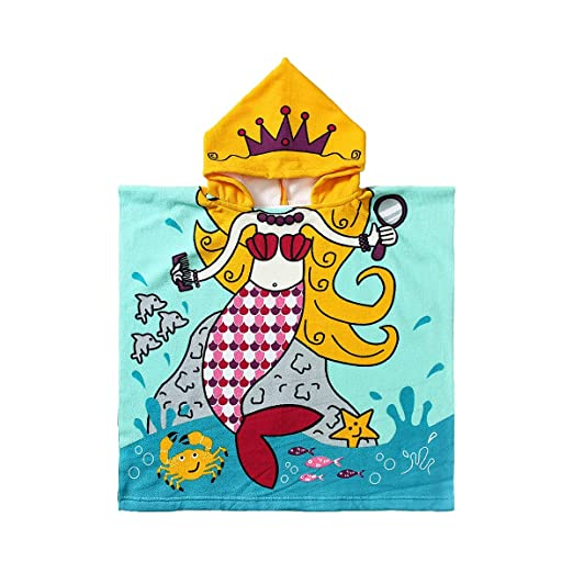 Jingmu Baby Swimming Towel With Hood