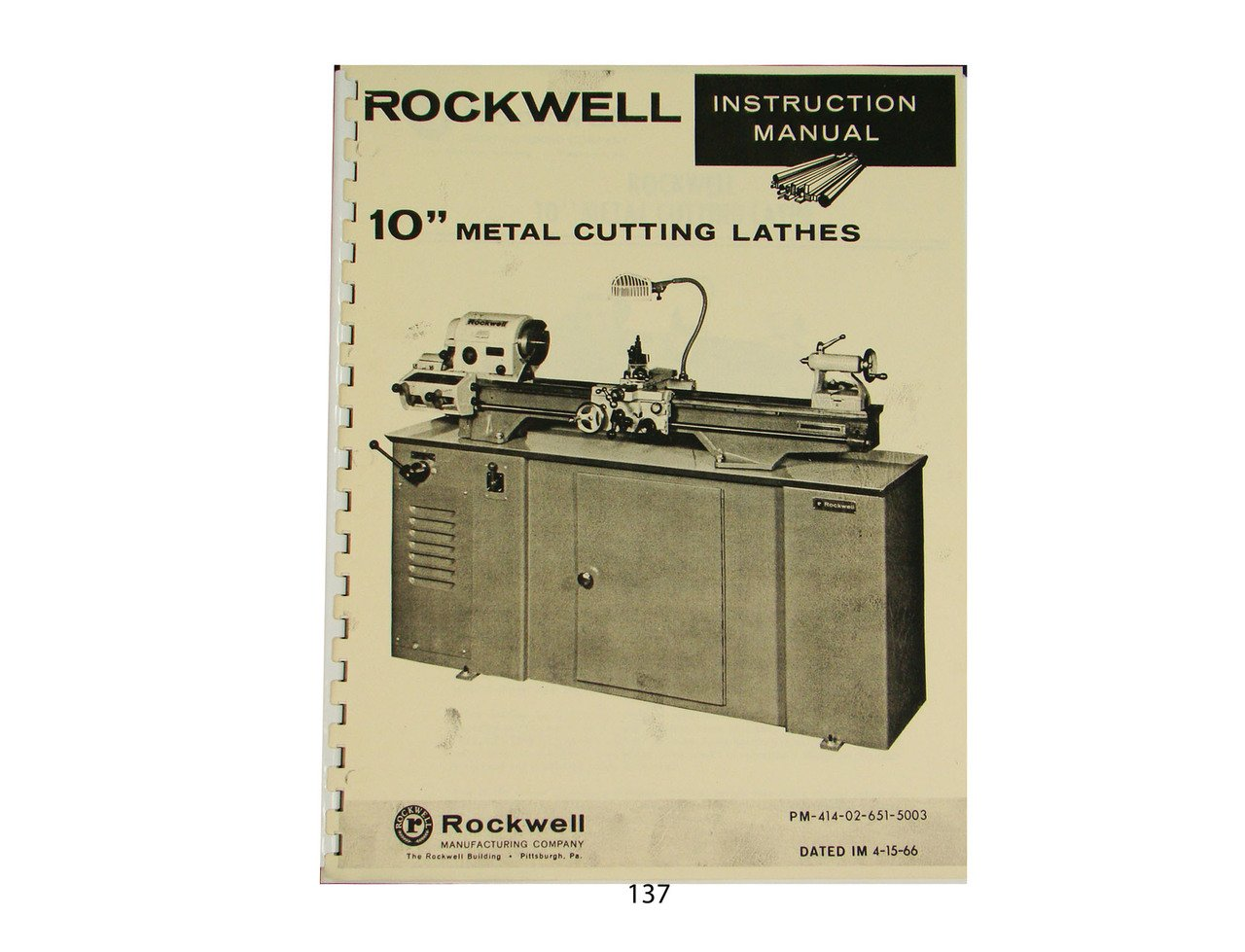 Rockwell 10 inch metal lathe instruction parts manual rockwell rockwell 10 inch metal lathe instruction parts manual rockwell amazon books fandeluxe