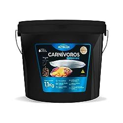 Carnívoros Superfície Tamanho Médio 1,1kg Nutricon Para Peixe Tropical Todas As Fases