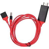 wendeekun Teléfono móvil a TV 1080P HDTV HDMI Universal para Cable Adaptador AV, Adaptador de Cable HDMI 1080P para…