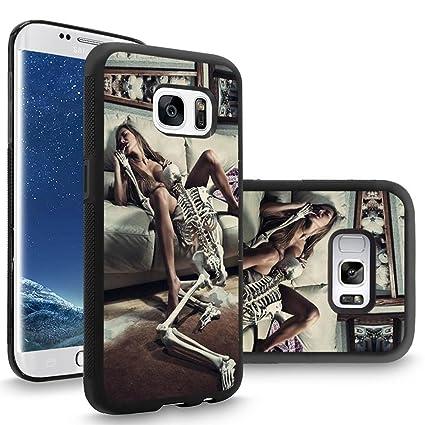 Amazon.com: Samsung S8 Plus Caso Funda personalizada Negro ...