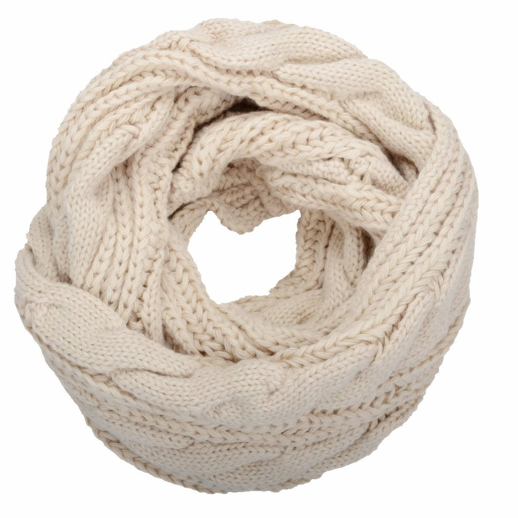 03ec61e65dd59 NEOSAN Womens Thick Ribbed Knit Winter Infinity Circle Loop Scarf. By NEOSAN