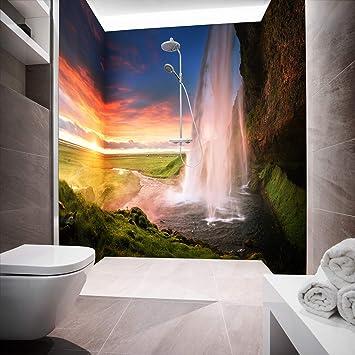 Mampara de ducha de aluminio compuesta como placa individual o juego de placas para ducha de