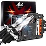 WinPower 55W H7 Xenon HID Headlight Bulb 6000K Cool White Car Conversion kit with AC CanBus Ballast