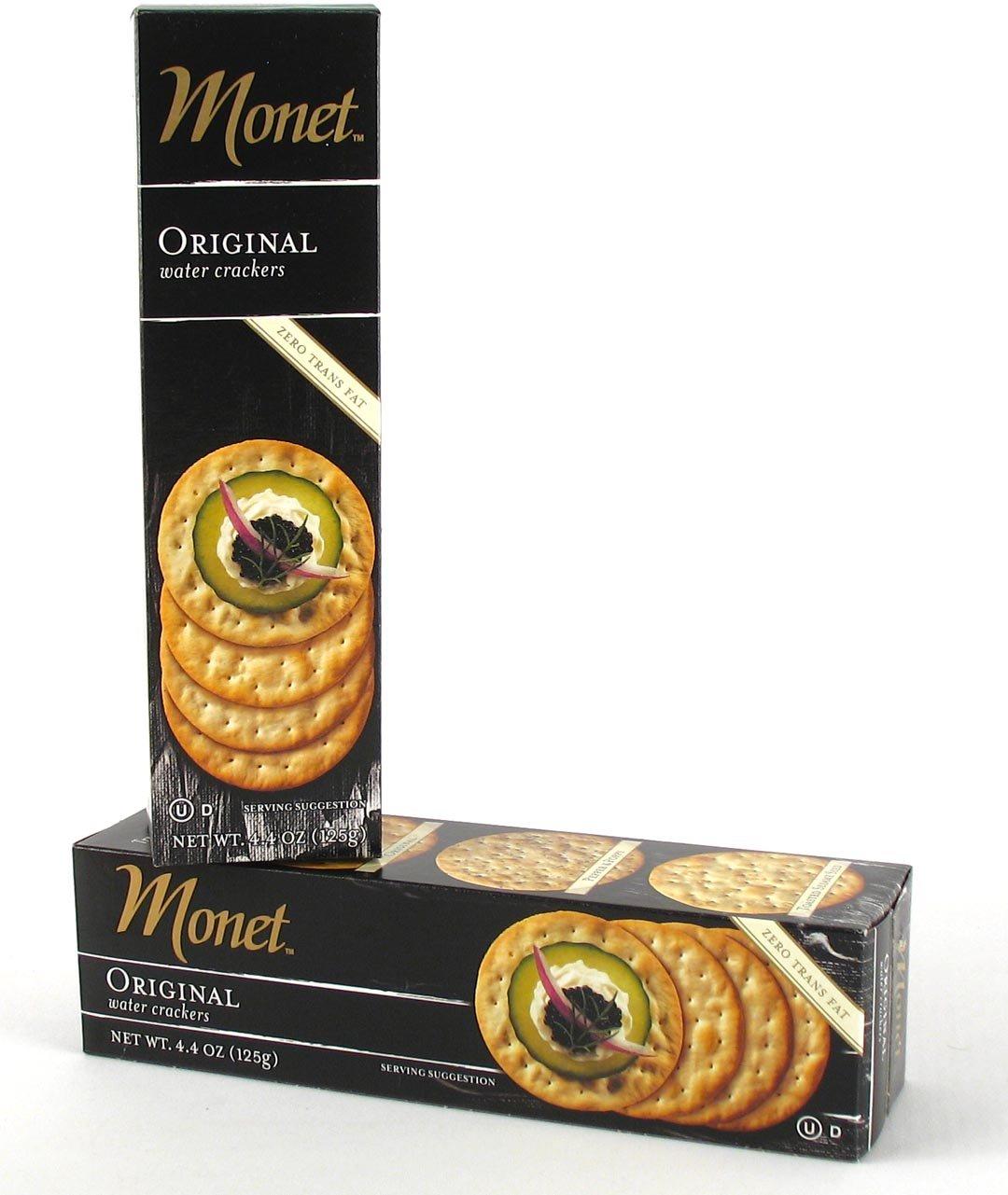 Monet Water Crackers, Original, 4.4 oz