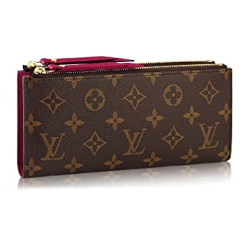 9c9e5426381 Louis Vuitton Monogram Canvas Adele Wallet Fuchsia Article: M61269 ...