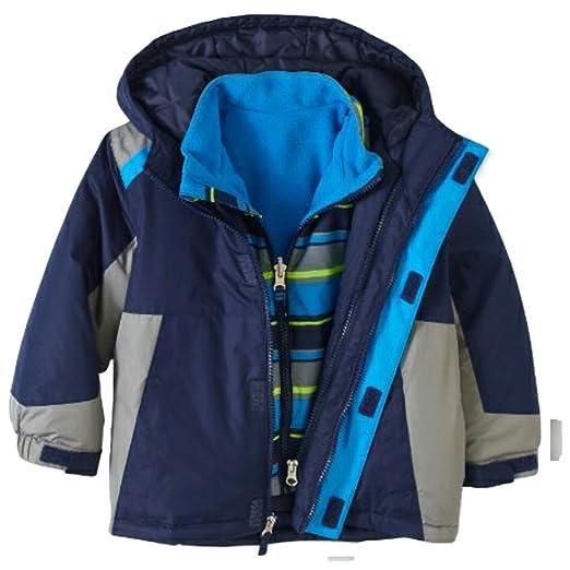 b9b6c20fa771 Amazon.com  Healthtex Baby Infant Boy 3 in 1 Ski Snowboard Jacket ...