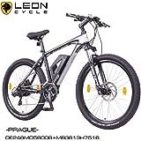 "NCM Prague 36V, 26"" / 27,5"" Zoll Elektrofahrrad Mountainbike E-MTB E-Bike, Pedelec, 250W Bafang Heckmotor, 13Ah 468Wh Li-Ion Akku, mechanische Scheibenbremsen, 21 Gang Shimano Schaltung"