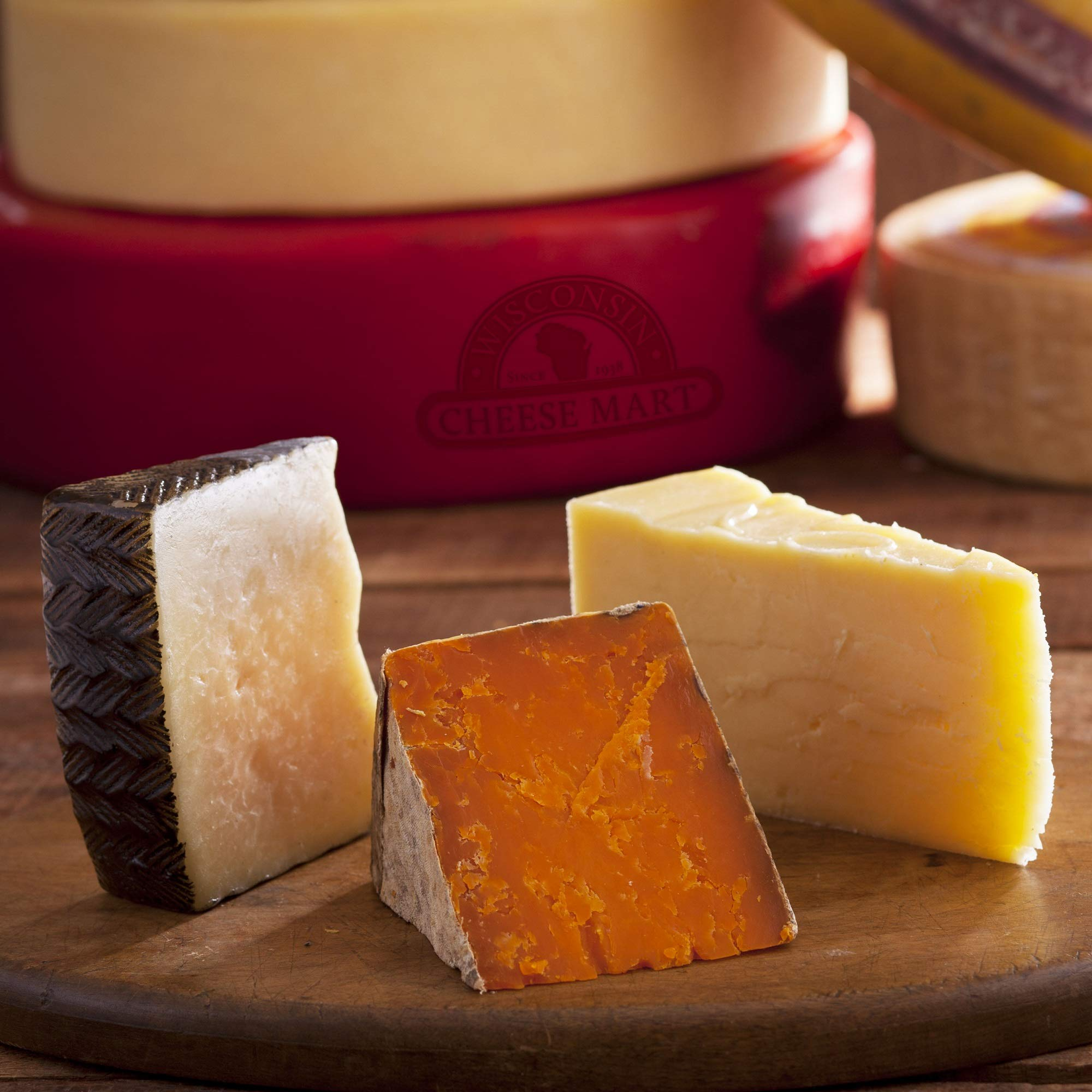 Artisan Cheese of the Month club - 6 Months by Wisconsin Cheese Mart (Image #1)