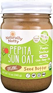 product image for Naturally Nutty Organic Pepita Butter 12 oz Jar (Oat)