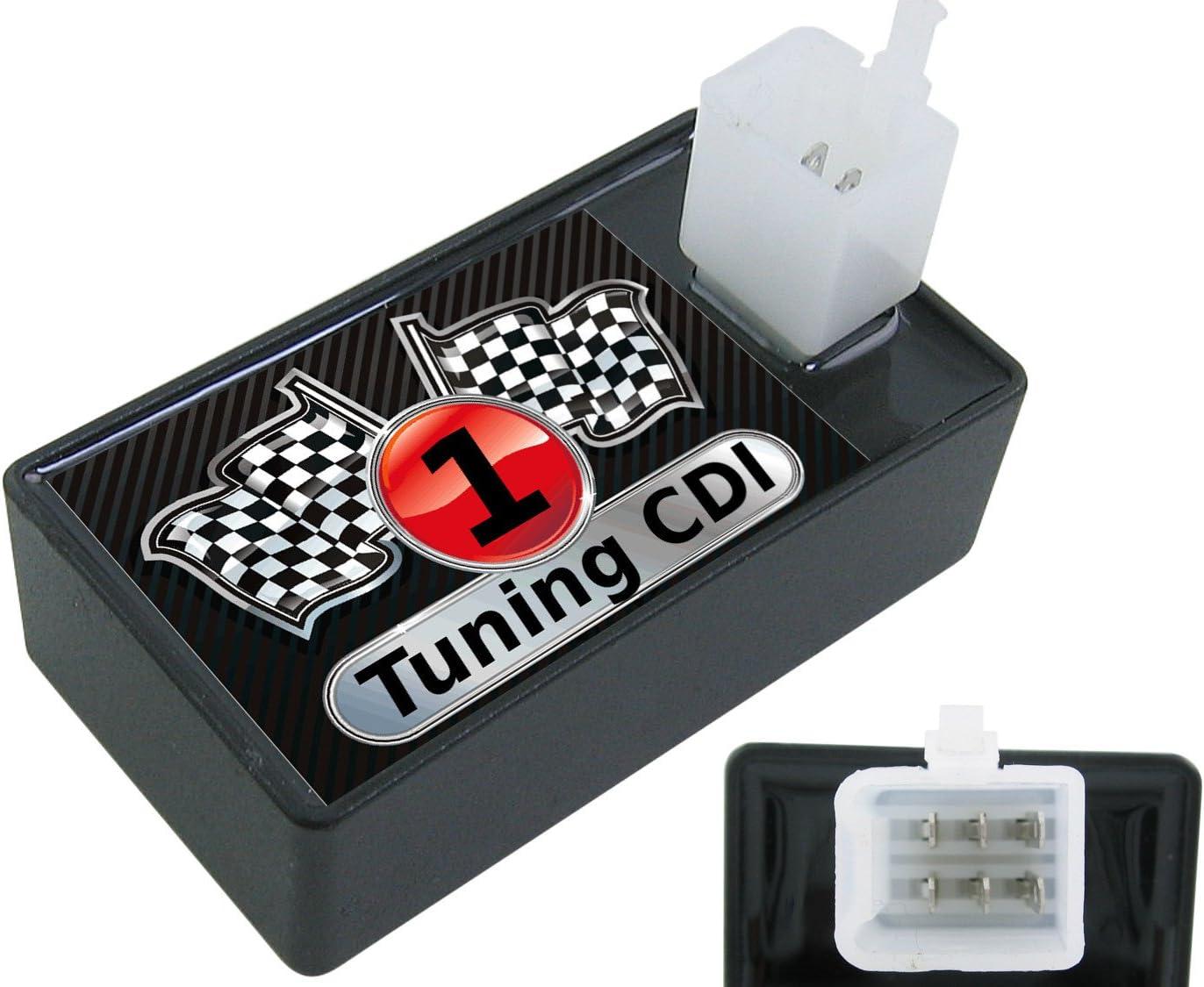 New Retro 50ccm 4T // CDI Benero Retro 50ccm 4T CDI Jack Fox Retro Star Offene Sport Tuning 6 Pin! 6 Pin! Speed Fox S