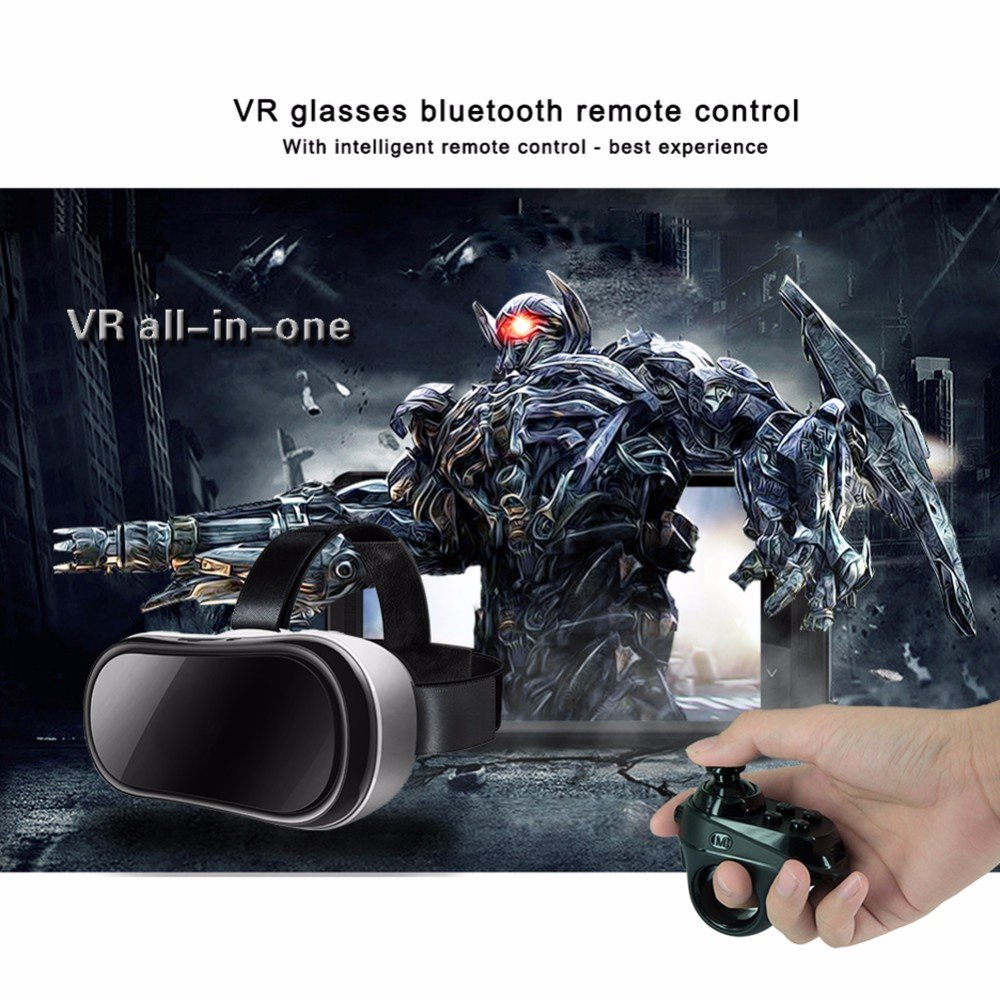 ACGAM R1 Bluetooth 4.0 Wireless Gamepad VR Remote Mini Game Controller Joystick for iOS Android by ACGAM (Image #2)