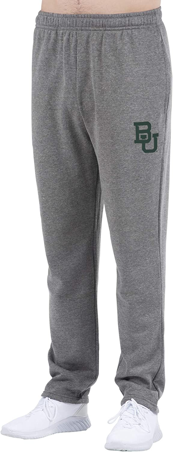 Top of the World NCAA Mens Foundation Open Bottom Gray Heather Sweatpants