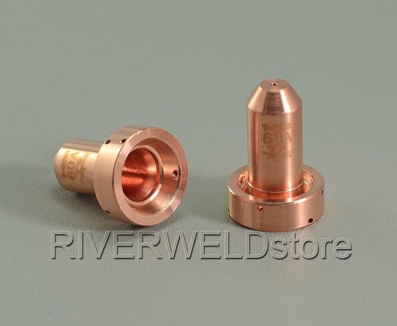 SL100 Torche de d/écoupe plasma 5pk 9-8210 buse de coupe Plasma 60Amp Pour Thermal Dynamics SL60