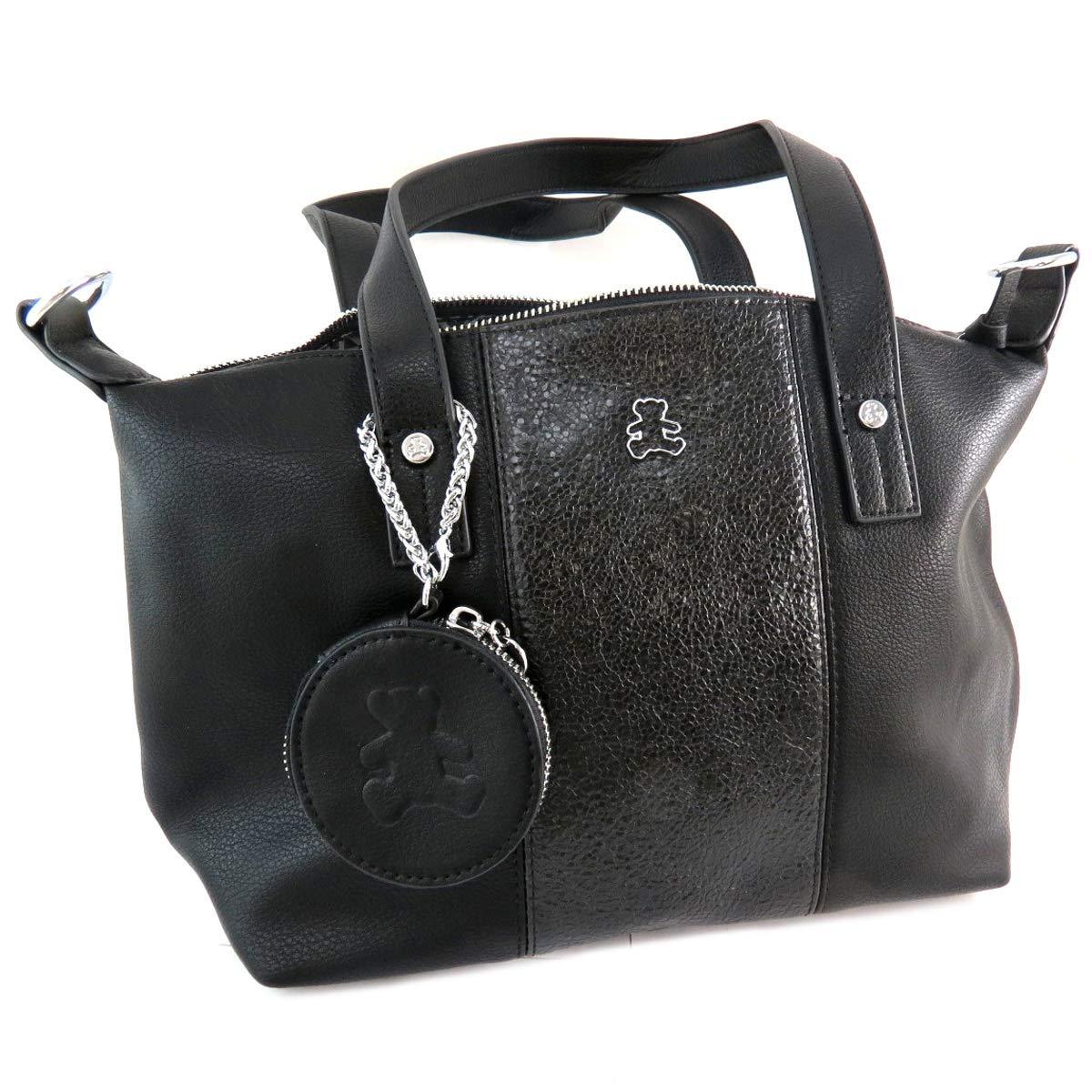 bas prix 0249b 87c09 Lulu Castagnette [Q9154 - Sac créateur noir (+porte-monnaie ...