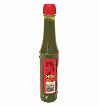 B&B Picamas Green Hot sauce 3.52 oz - Salsa verde picante (Pack of ...