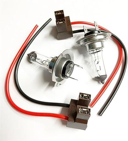 H7 499 477 Bulb Holder Plug Headlamp Wiring Repair Headlight /& Connectors
