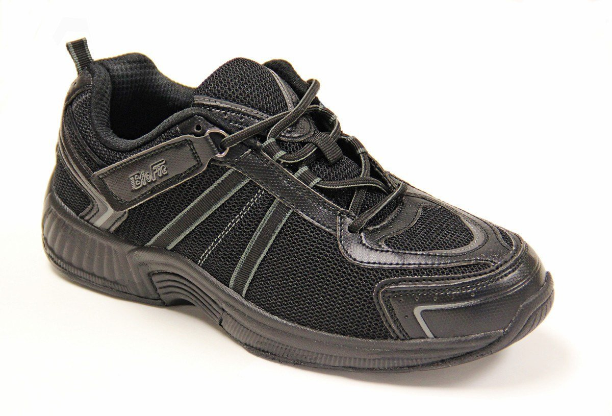 Orthofeet 911 Tahoe Women's Comfort Diabetic Extra Depth Shoe Black 11 XXW(4E) Lace