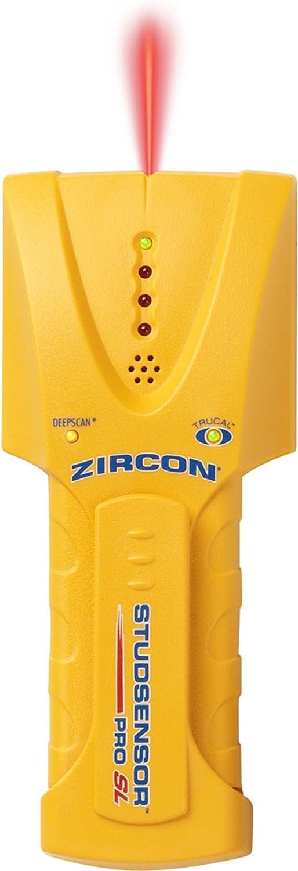 Zircon StudSensor Pro SL Edge Finder Deep-Scanning Stud Finder with SpotLite Pointing System