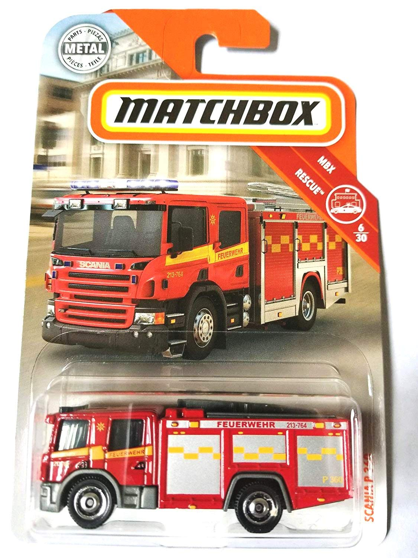 "New /'51 HUDSON HORNET /""Red /& Blue/"" Fire//Police 2018 2019 Matchbox 2 Car LOT"