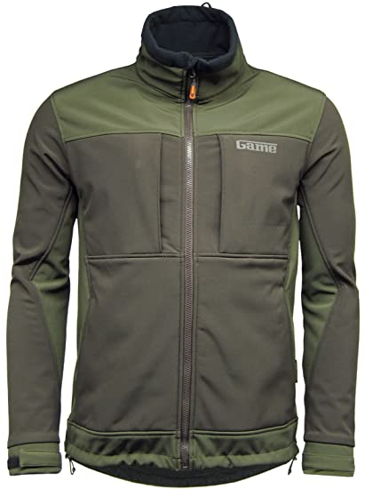 1e3b1cef4a879 Game Mens Viper Softshell Jacket | Waterproof | Breathable Green ...